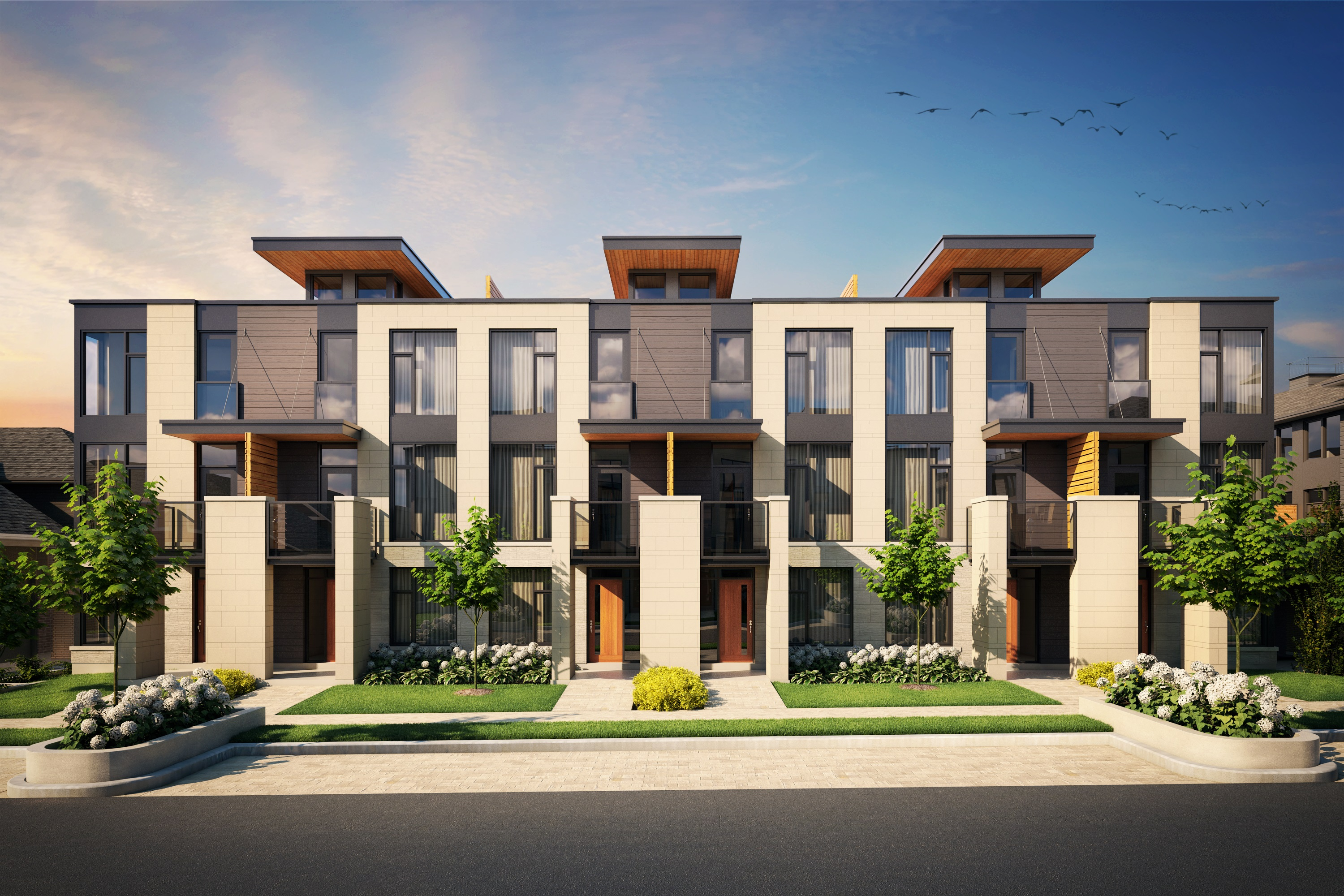 The Panorama Townhomes In Ottawa Greystone Village